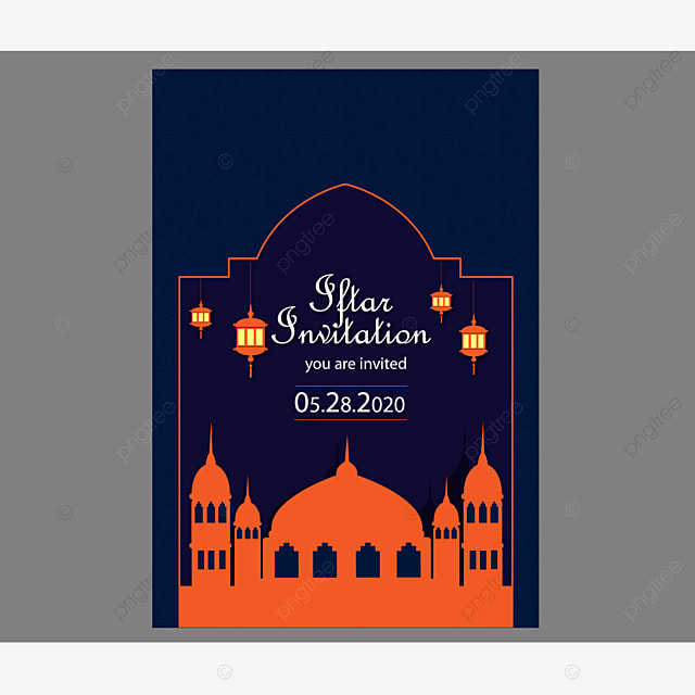 Iftar Invitation Templates Psd Design For Free Download Pngtree