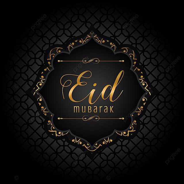 islamic eid greeting card template template for free
