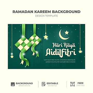Kad Hari Raya Templates Psd Design For Free Download Pngtree