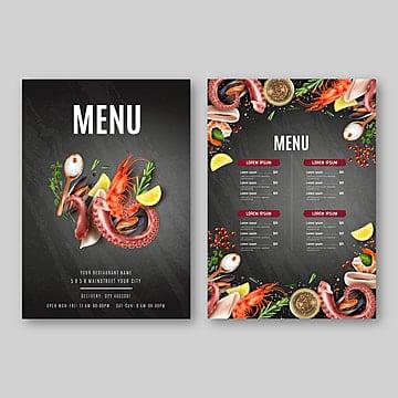 Restaurant Flyer Vectors Templates Psd 25 Design Templates For