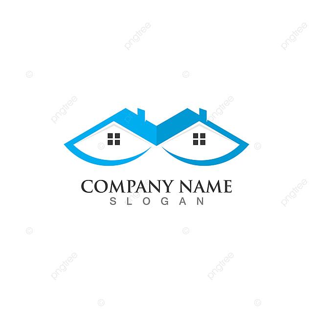 Properti Dan Desain Logo Konstruksi Templat Untuk Unduh Gratis Di Pngtree