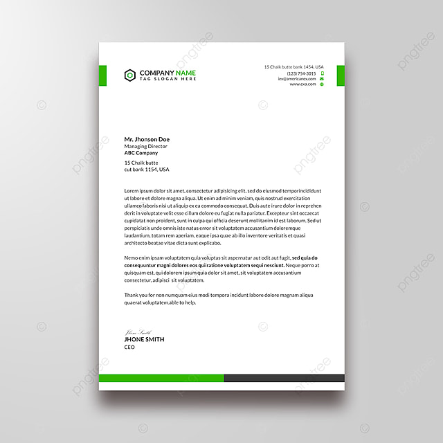 Letter Head For Business from png.pngtree.com
