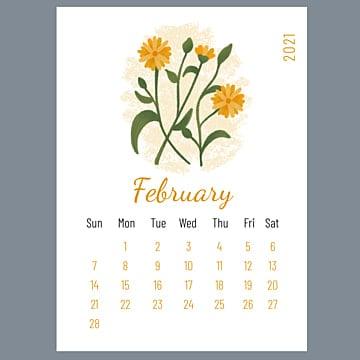50 Menawan Kalender 2021 Koleksi Template Pngtree