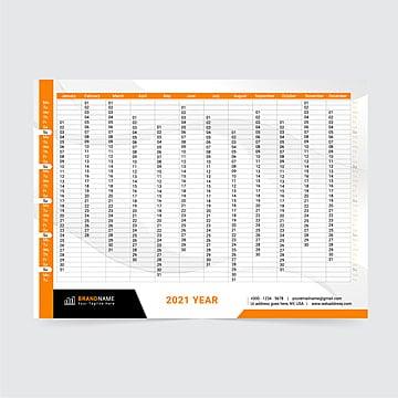 Calendario Nazionale Affissioni 2021 50+ Gorgeous 2021 Calendar Template Collection Pngtree