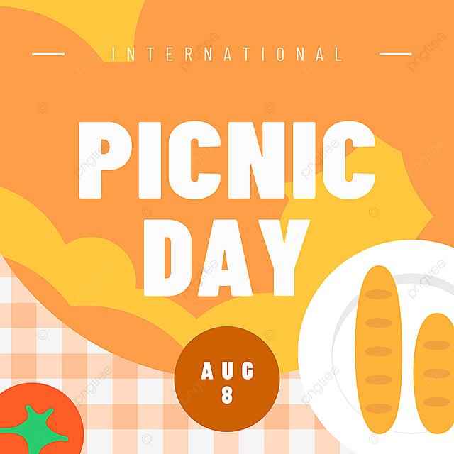 orange food plate picnic day snsbanner