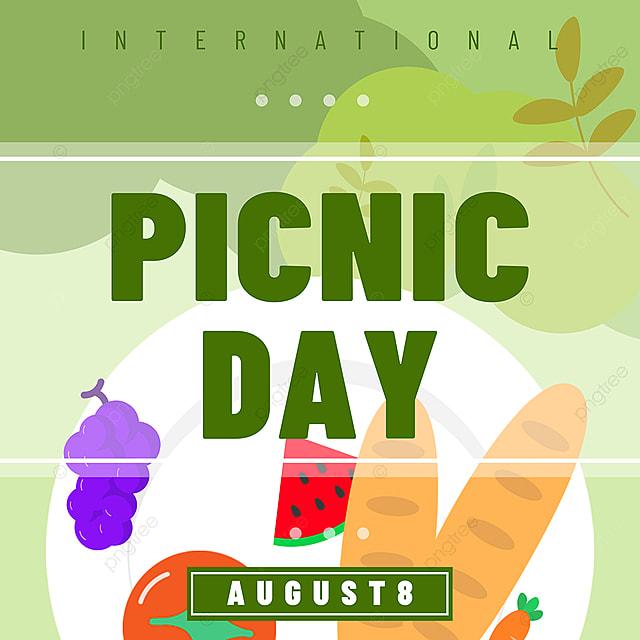 green fruit plate picnic day snsbanner