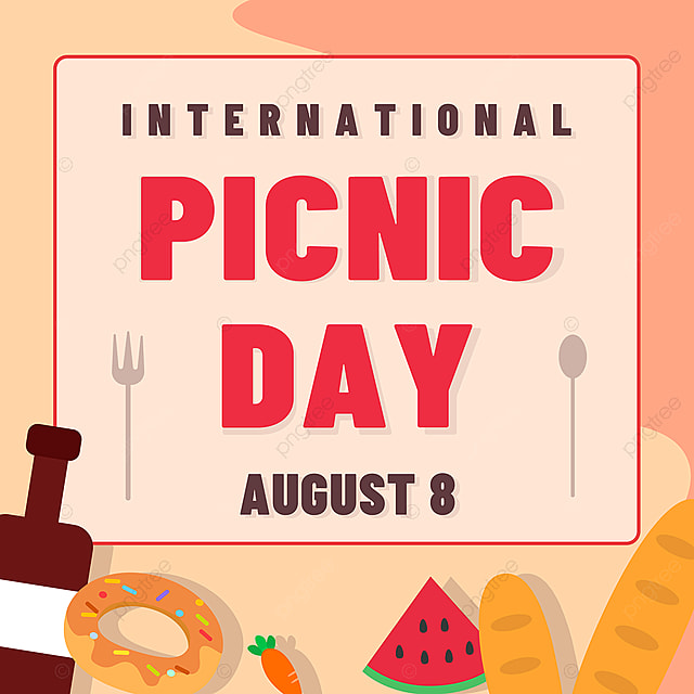 orange fruit food picnic day poster