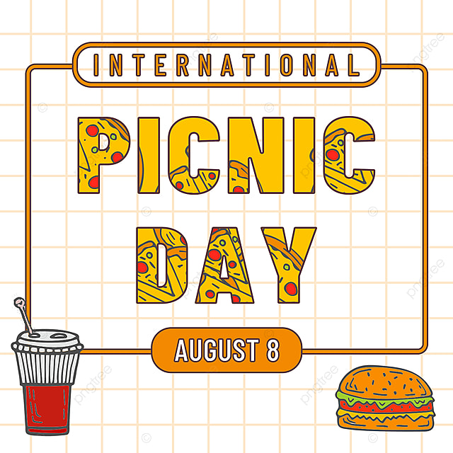 yellow minimalist food picnic day snsbanner