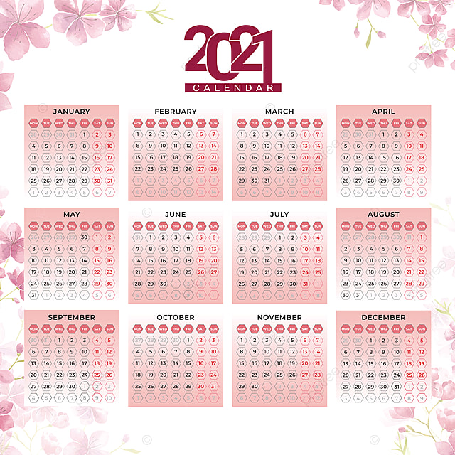 Template Calendrier 2021 Calendrier 2021 Modèle De Mise En Page 12 Mois Calendrier Annuel