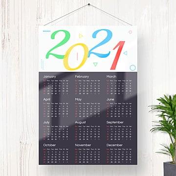 Gambar 2021 Kalender Png, Vektor, PSD, dan Clipart Dengan ...