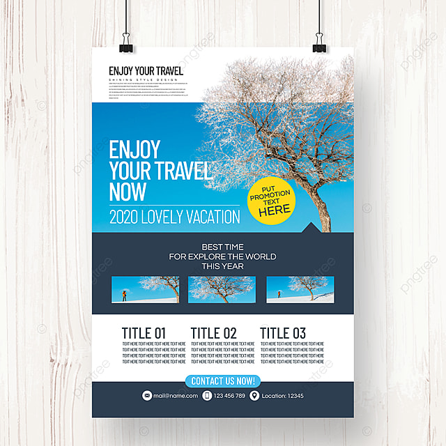 business style fashion simple summer travel agency poster