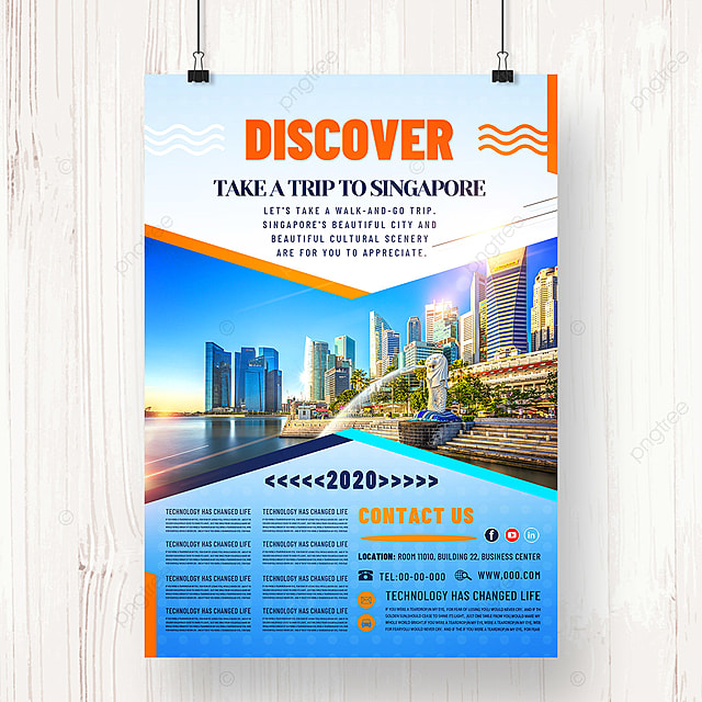 modern tourism agency posters