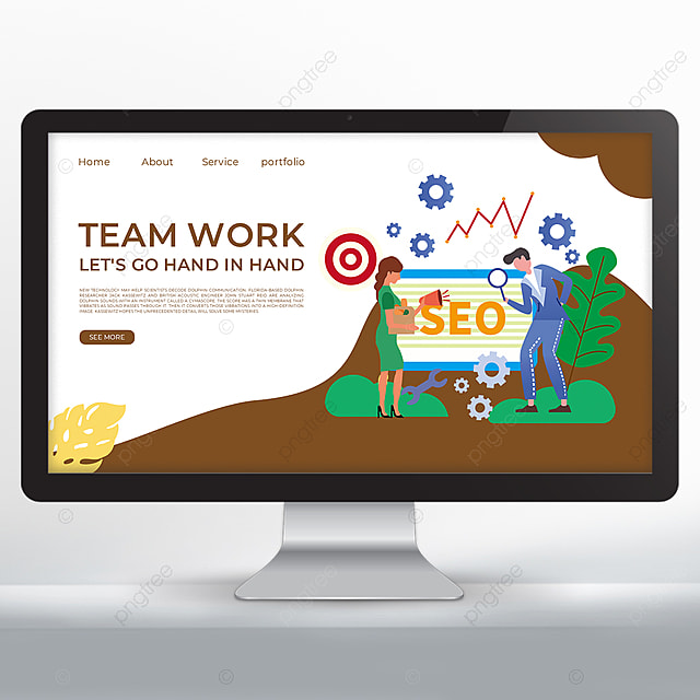 team promotion web design