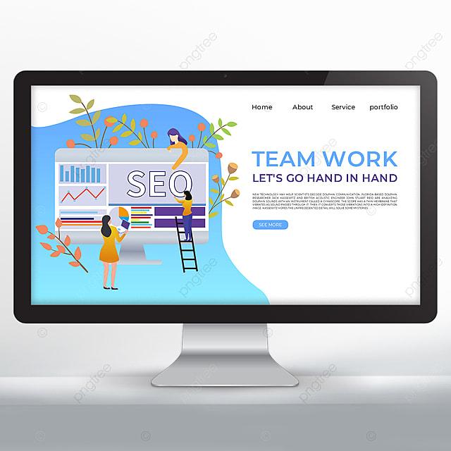 teamwork data promotion web design