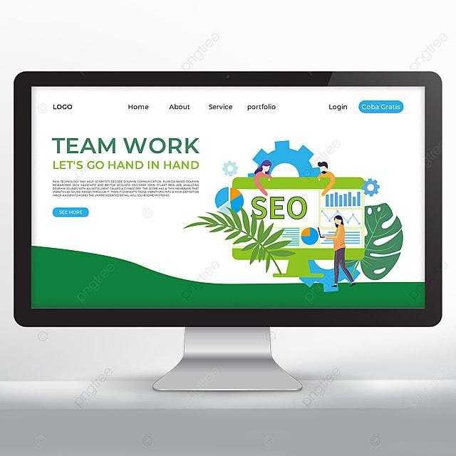 teamwork promotion web design