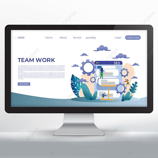 teamwork analysis and promotion web design