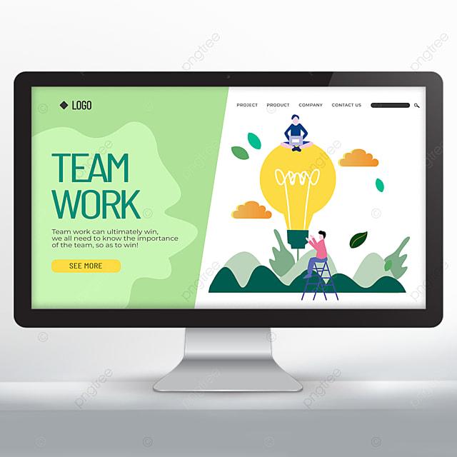 teamwork promotion design