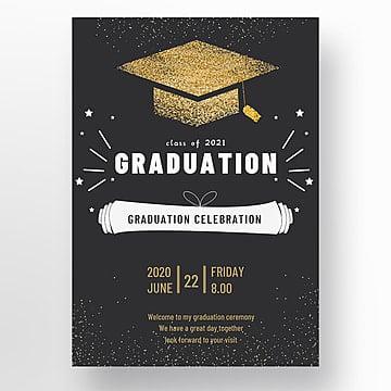 50 Succinct 2021 Graduation Invitation Template Collection Pngtree
