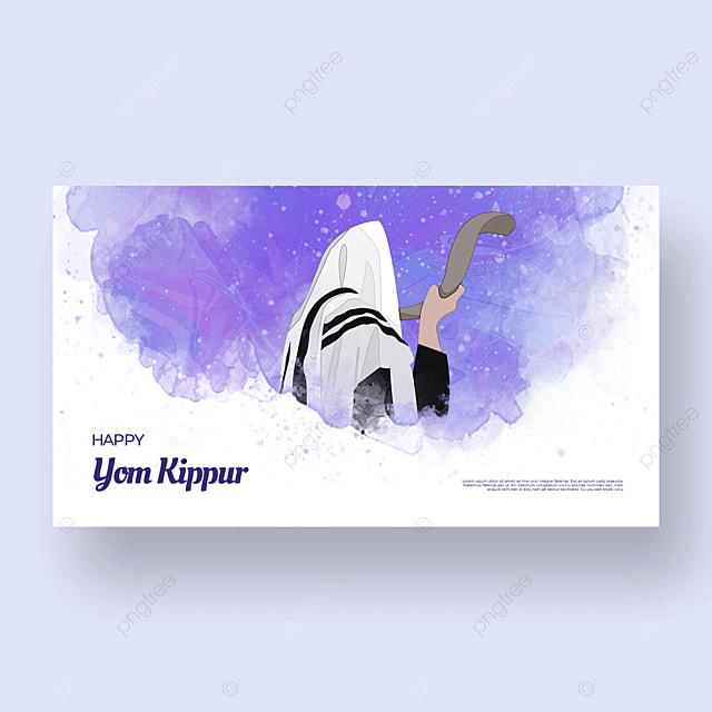 aesthetic fantasy character light effect flashing judaism yom kippur template