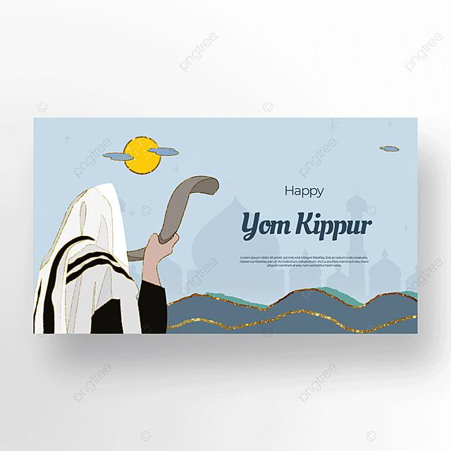 bright and beautiful characters judaism yom kippur template