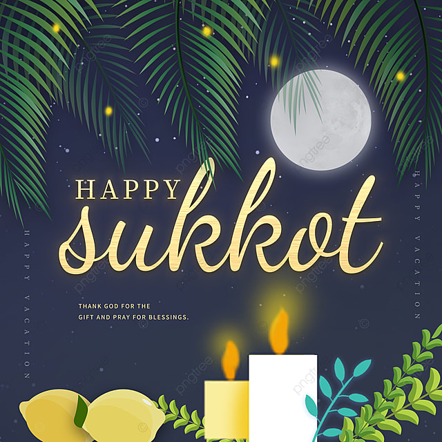 celebrate the festival at night sukkot festival promotion