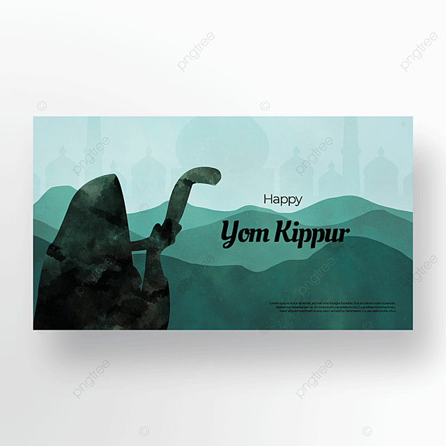 quiet night aesthetic character judaism yom kippur template