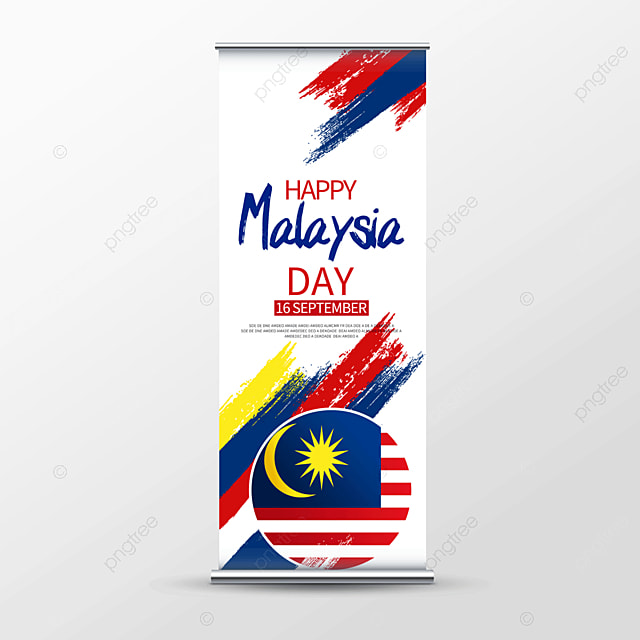 color brush malaysia japanese roll up banner