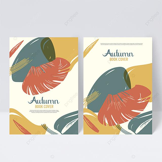 cool autumn sample cover design