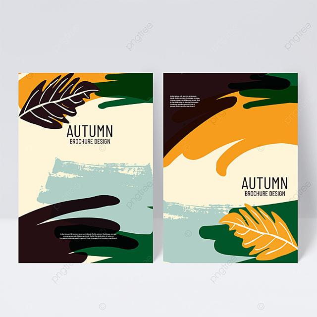 dark autumn sample cover design