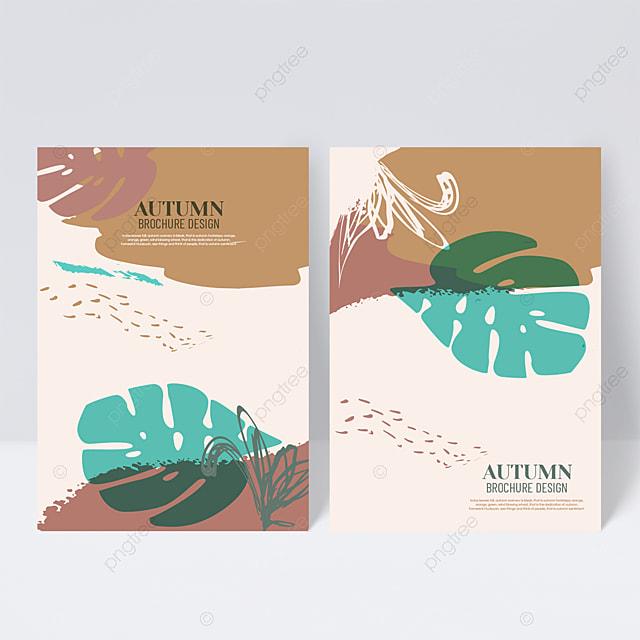 elegant autumn sample cover design