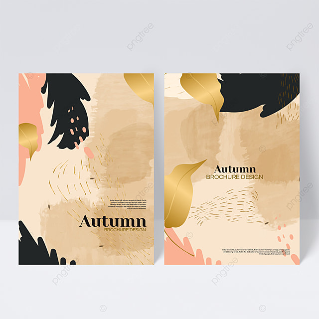 golden autumn sample cover design