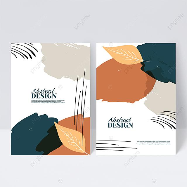 simple autumn sample cover design