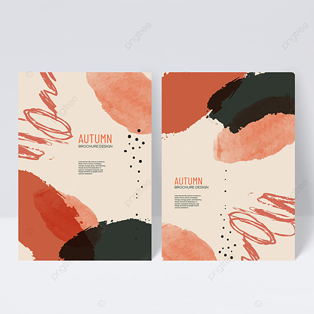 warm autumn sample cover design