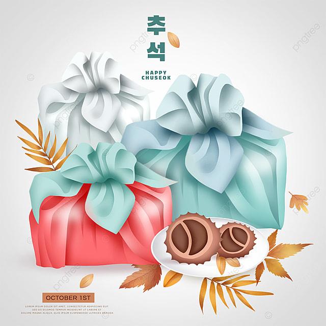 korean mid autumn festival blue bag social media sns