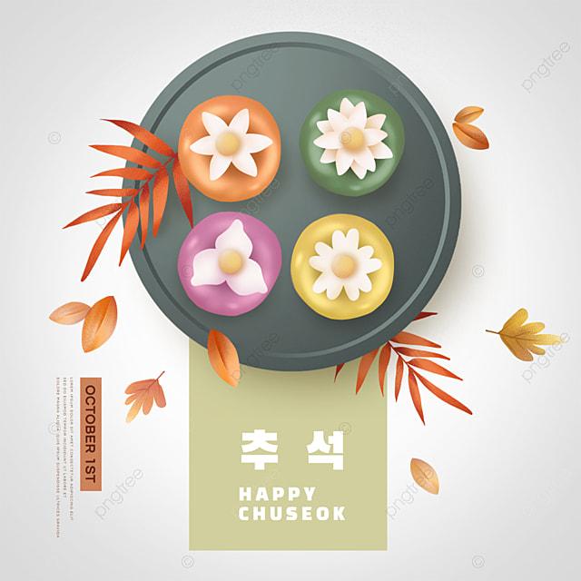 korean mid autumn festival colorful social media maple leaf sns
