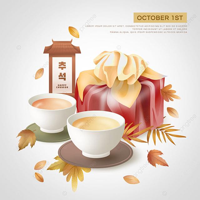 korean mid autumn festival red gift bag social media sns