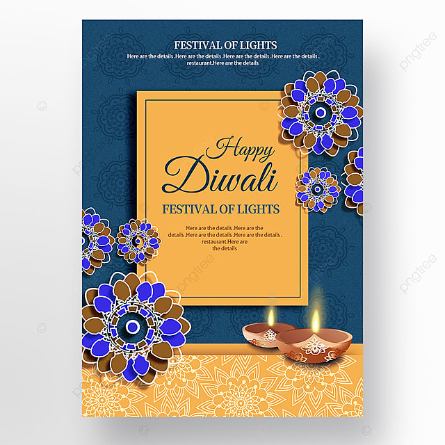 Download Happy diwali festival poster templates from Pngtree.com and you can finish your design projects within minutes even if you have little design experience. All of the Best Happy diwali festival poster templates in this collection have commercial use license so you can use them without any copyright concerns.