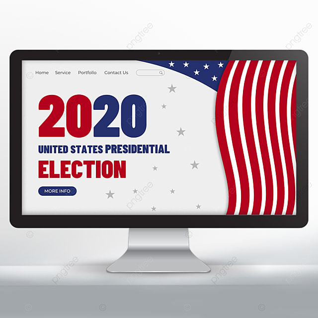 United States Presidential Election Web Design Template For Free Download On Pngtree