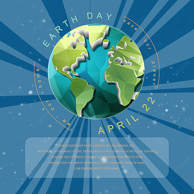 blue earth day elements