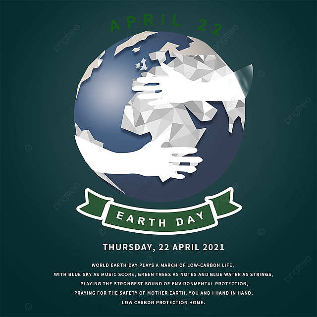 gray earth day elements