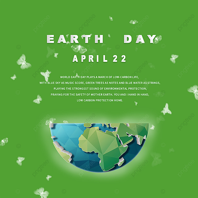 green earth day elements
