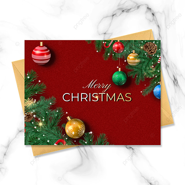 simple style exquisite three dimensional christmas card