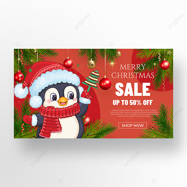 cute animal element christmas holiday poster
