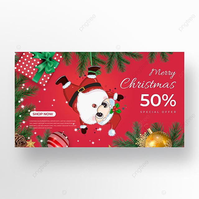 receiving santa element christmas holiday poster
