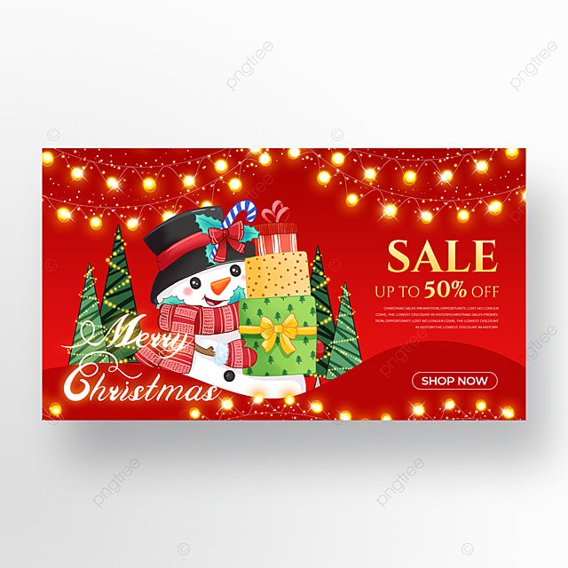snowman element christmas holiday poster