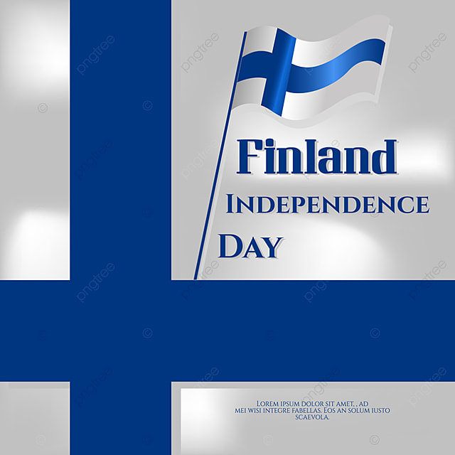 blue finland independence day