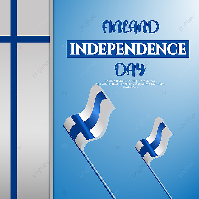 finland flag independence day