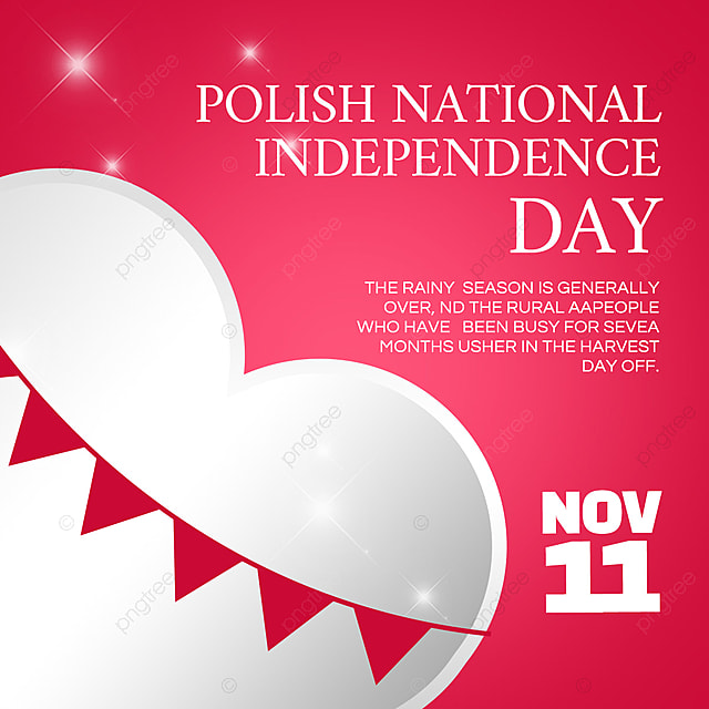 Download Poland National Independence Day holiday poster templates from Pngtree.com and you can finish your design projects within minutes even if you have little design experience. All of the Gorgeous Poland National Independence Day holiday poster templates in this collection have commercial use license so you can use them without any copyright concerns.