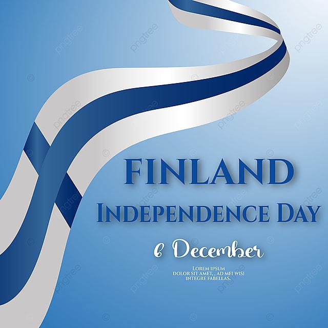 waving ribbons finland flag social media