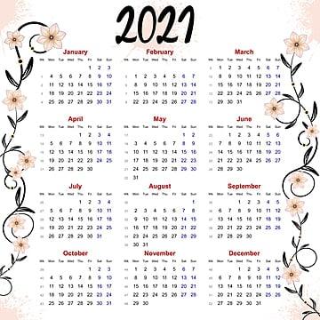 Gambar Kalender 2021 Png, Vektor, PSD, dan Clipart Dengan ...